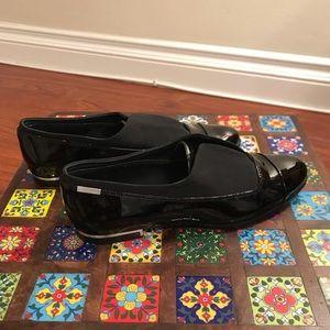 Calvin Klein Black Patent Leather